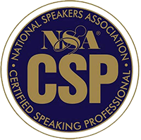 Logo Certified Speaking Professional